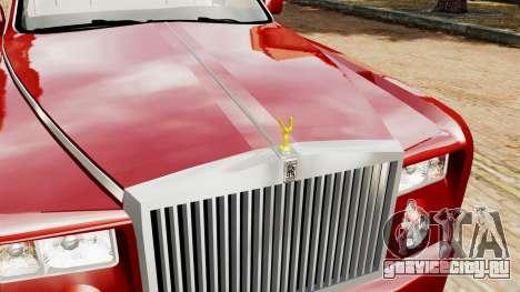 Rolls-Royce Phantom LWB V2.0 для GTA 4 вид справа