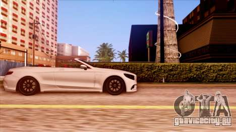 Mercedes-Benz S63 для GTA San Andreas вид слева