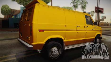 Ford E-150 Commercial Van 1982 2.0 IVF для GTA San Andreas вид слева