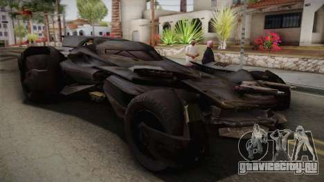 Batman VS Superman Batmobile для GTA San Andreas