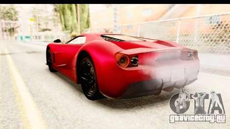 GTA 5 Vapid FMJ IVF для GTA San Andreas вид слева