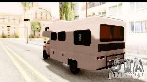 GTA 5 Camper для GTA San Andreas вид справа