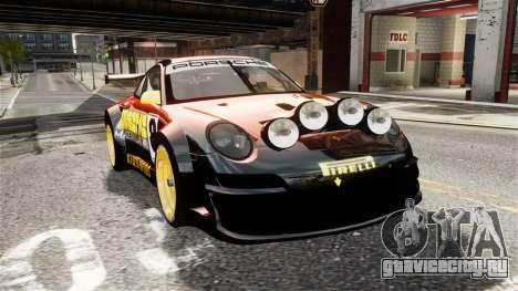 Porsche Rallye Vespas 911 GT3 RSR для GTA 4 вид справа