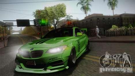 BMW M235i 69Works для GTA San Andreas вид сбоку