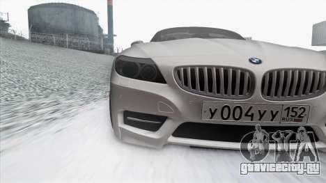 BMW Z4 для GTA San Andreas вид сбоку