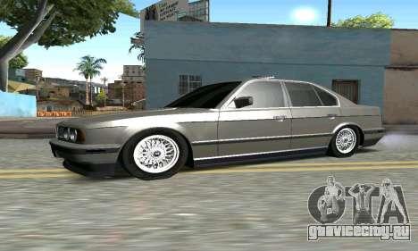 BMW 535 для GTA San Andreas вид слева