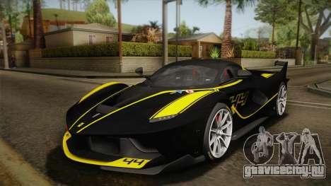 Ferrari FXX-K 2015 PJ для GTA San Andreas