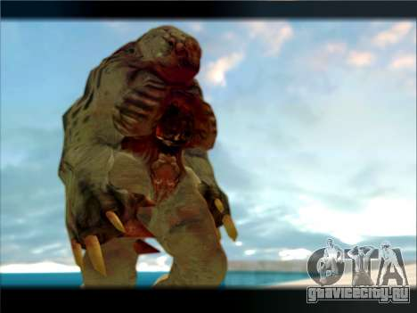 Berzerker from DOOM 3 для GTA San Andreas третий скриншот