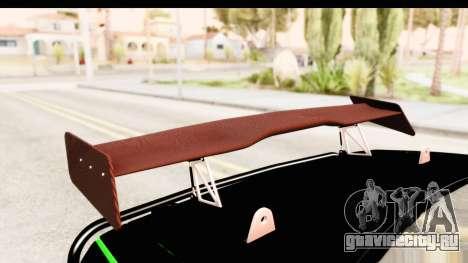 Dodge Challenger F&F 7 для GTA San Andreas вид сбоку