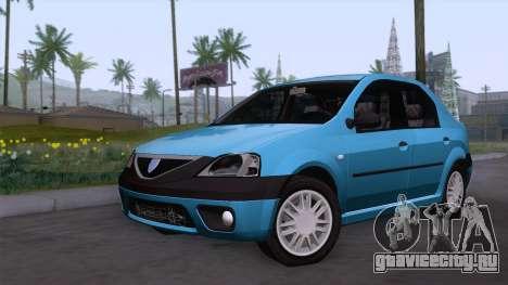 Dacia Logan Prestige 1.6L 16V для GTA San Andreas