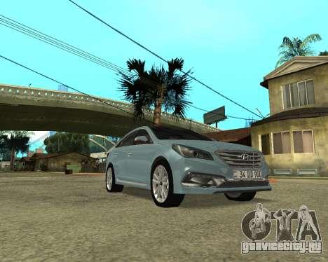 Hyundai Sonata Armenian для GTA San Andreas