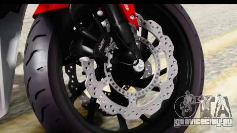 Honda CBR650F для GTA San Andreas вид сзади