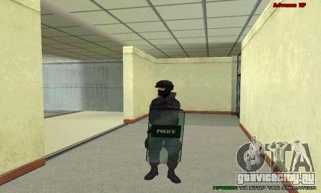 Скин SWAT из GTA 5 для GTA San Andreas восьмой скриншот