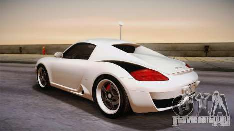 Ruf RK Coupe (987) 2007 HQLM для GTA San Andreas вид слева