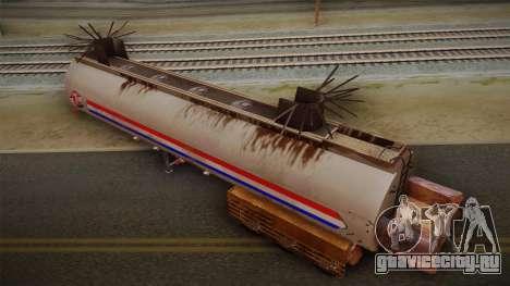Mack R600 v2 Trailer для GTA San Andreas вид сзади слева