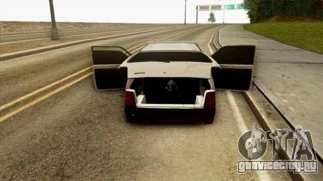 ВАЗ 1111 для GTA San Andreas вид сбоку