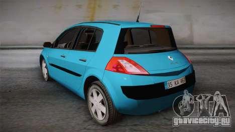 Renault Megane 2 Hatchback v2 для GTA San Andreas вид слева