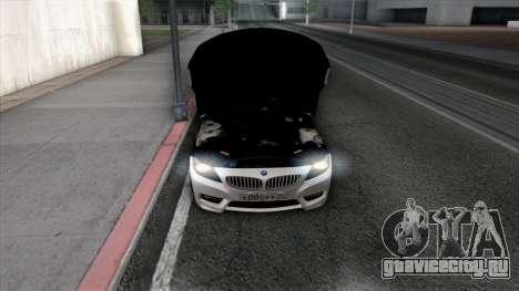 BMW Z4 для GTA San Andreas колёса