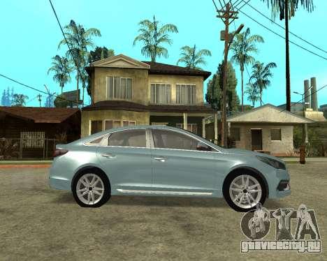 Hyundai Sonata Armenian для GTA San Andreas вид слева