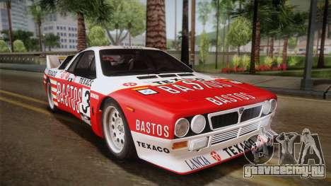 Lancia Rally 037 Stradale (SE037) 1982 Dirt PJ2 для GTA San Andreas вид слева