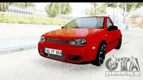 Volkswagen Golf Mk4 Pickup для GTA San Andreas