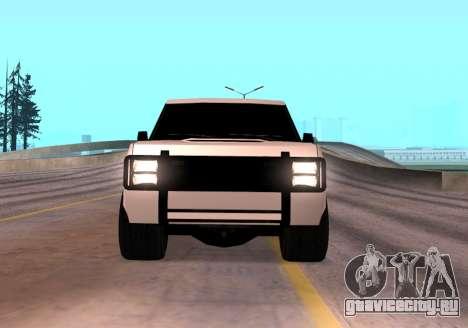 Huntley Rover для GTA San Andreas вид справа