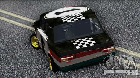 ВАЗ 2101 Гоночный Болид для GTA San Andreas вид сзади слева
