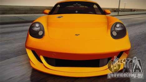 Ruf RK Coupe (987) 2007 IVF для GTA San Andreas вид справа