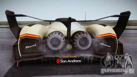 Devel Sixteen для GTA San Andreas вид справа