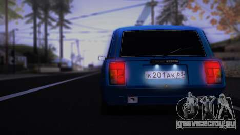 ВАЗ 2104 Аниме для GTA San Andreas вид справа