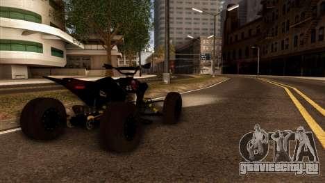 Quad Graphics Skull для GTA San Andreas вид слева