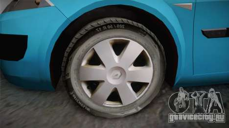 Renault Megane 2 Hatchback v2 для GTA San Andreas вид справа