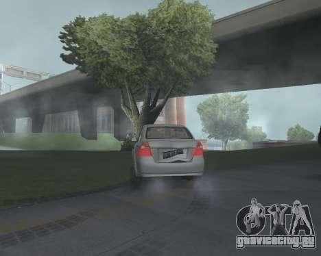 Chevrolet Aveo Armenian для GTA San Andreas вид справа