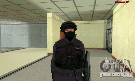 Скин SWAT из GTA 5 для GTA San Andreas седьмой скриншот