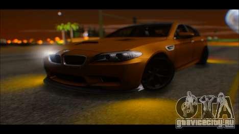 BMW M5 F10 2014 для GTA San Andreas вид справа