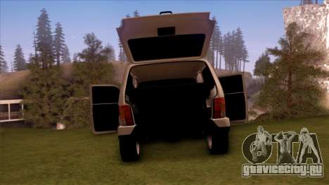 ВАЗ 2121 для GTA San Andreas вид изнутри