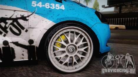 Volkswagen Voyage G6 Pmerj Graffiti для GTA San Andreas вид справа