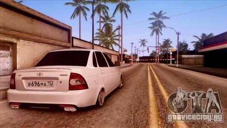 Lada Priora Autozvuk v.2 для GTA San Andreas вид слева
