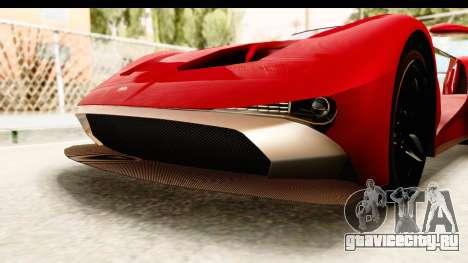GTA 5 Vapid FMJ IVF для GTA San Andreas вид снизу