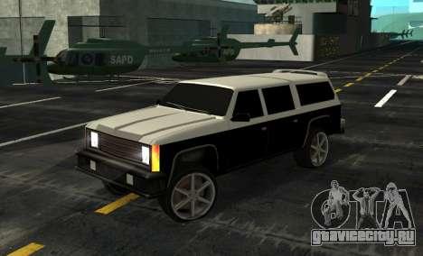 FBI Rancher Tuning для GTA San Andreas
