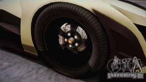 Devel Sixteen для GTA San Andreas вид сзади