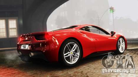 Ferrari 488 GTB 2016 для GTA 4 вид слева