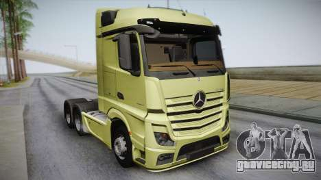 Mercedes-Benz Actros Mp4 6x4 v2.0 Steamspace для GTA San Andreas