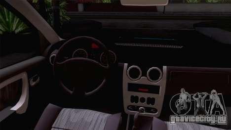 Dacia Logan Prestige 1.6L 16V для GTA San Andreas вид сзади