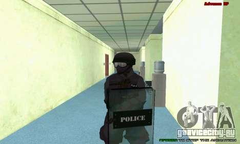 Скин SWAT из GTA 5 (PS3) для GTA San Andreas десятый скриншот