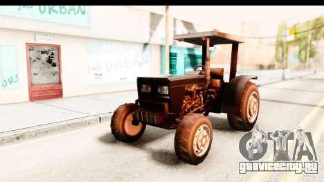 Modern Tractor для GTA San Andreas вид сзади слева