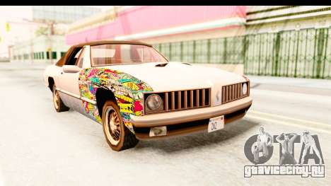 Stallion Sticker Bomb для GTA San Andreas