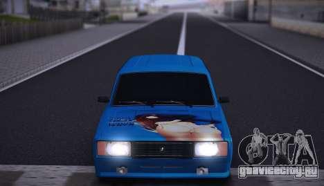 ВАЗ 2104 Аниме для GTA San Andreas вид сзади