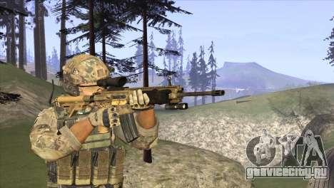 HK416A5 для GTA San Andreas второй скриншот