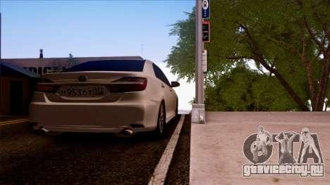 Toyota Camry 2016 для GTA San Andreas вид слева